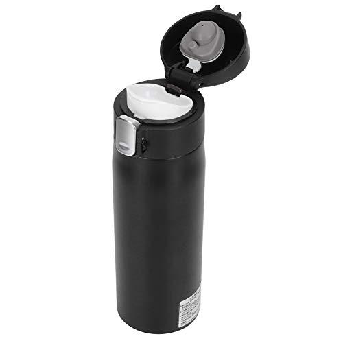 Taza hirviendo para automóvil, apagado automático 350 ml Taza eléctrica inteligente para automóvil PP + acero inoxidable para calentar agua para taza de agua portátil