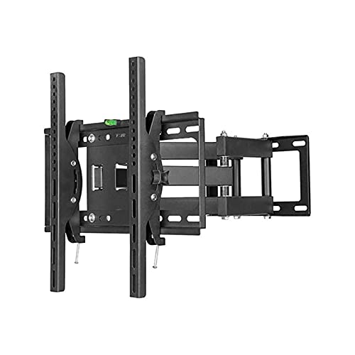 Soportes de pared para TV Soporte de TV de panel plano fijo inclinable, Soporte de montaje de pared de TV universal giratorio para soporte de pared de TV con soporte de monitor de TV de 34-72 pulgadas