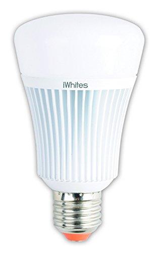 jedi lighting JE0127071LED Leuchtmittel Iwhite, Acryl, weiß, 17 x 17 x 8 cm