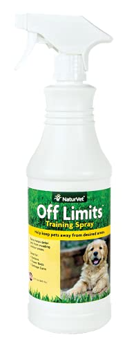 NaturVet Off Limits Pet Training Spray for Dogs & Cats – Deters Pets From Indoor/Outdoor Areas –...