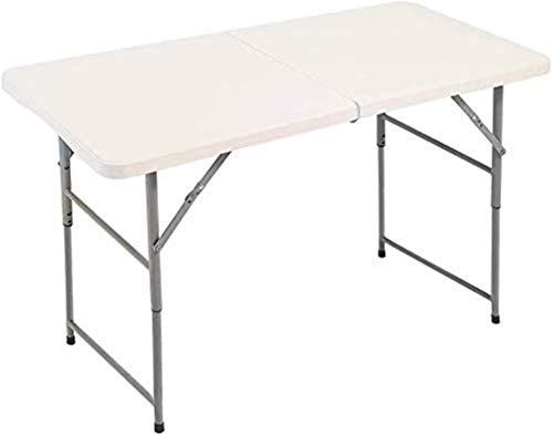 Mesa de picnic al aire libre Mesa de picnic plegable y conjunto de playa, escritorio portátil de aleación de aluminio con 4 asientos para viajes de interior al aire libre, Mesa de fiesta barbacoa