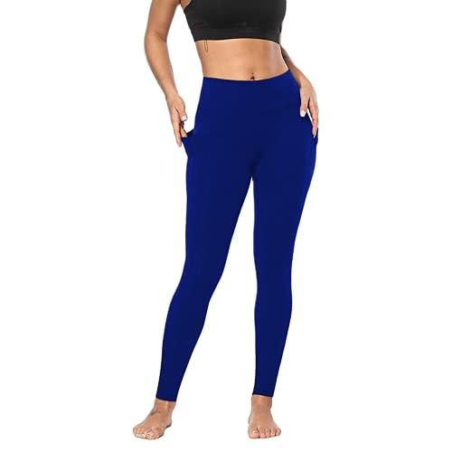 QTJY Mallas de Ejercicio elásticas de Moda para Mujer, Ejercicio físico, Pantalones de Yoga para Correr, Cintura Alta, Caderas, Pantalones de Fitness Delgados A L