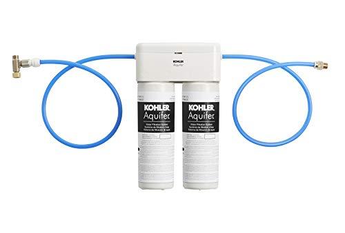 KOHLER 77686-NA Aquifer Double Cartridge Water Filtration System