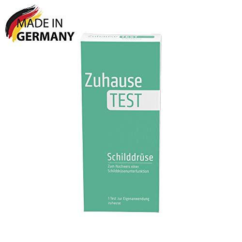 ZuhauseTEST Schilddrüse (TSH) - Test zum Nachweis einer Schilddrüsenunterfunktion - Produziert in Deutschland