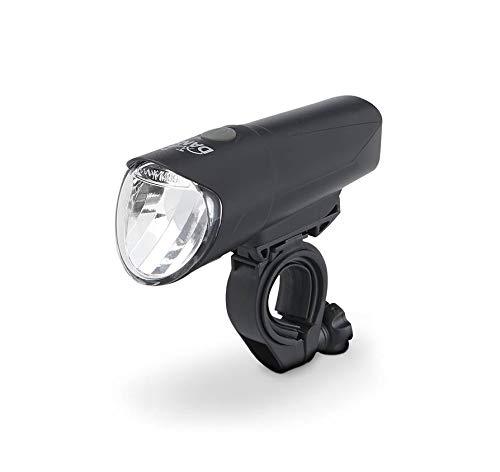 DANSI LED-Fahrradleuchtenset, umschaltbar 60/30/15 Lux, Stoßfest und Regenfest, schwarz - 2