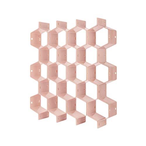 Chenqi Bricolaje Nido de Abeja Organizador Divisor de Cajón de Plástico Gabinete Cajas de Almacenamiento