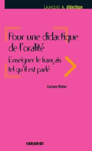 Pour une didactique de l'oralité - Ebook (French Edition)
