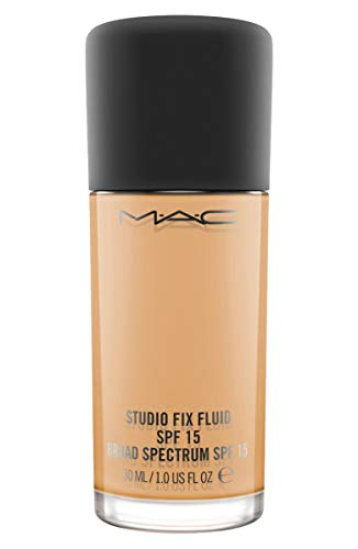 MAC Studio Fix Fluid Foundation SPF 15, acabado mate natural, NC42, 30 ml