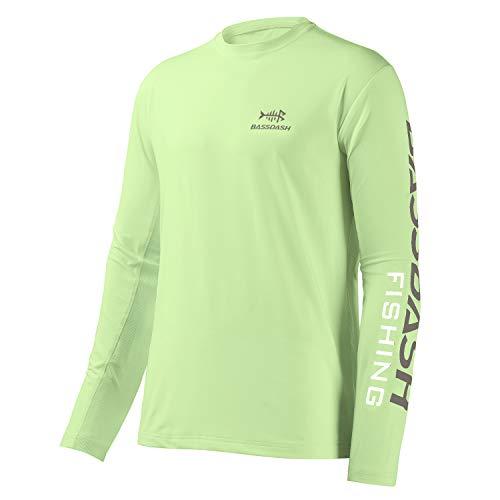 Bassdash Maglietta da Pesca Camicia da Pesca Camicia a Maniche Lunghe Camicia da Pescatore Abbigliamento da Pesca Protezione Solare UV UPF