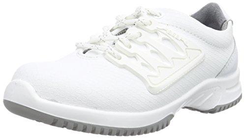 Proteq Unisex-Erwachsene uni6 1760 Halbschuh S1 Stahlkappe Sicherheitsschuhe, Weiß (weiß), 39