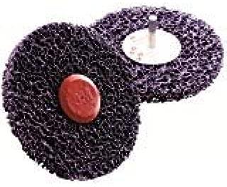 Disco abrasivo montato su perno 150 x 13 x 8 mm Blu 3M Scotch-Brite CG-ZS colore