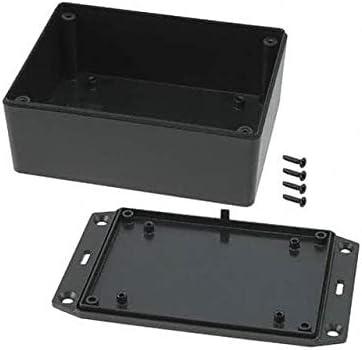 BOX PLASTIC BLK 4 years warranty 4.43