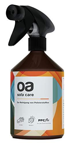 OA Sofa Care Polsterreiniger Sofa (500ml) - 100% PFC frei und vegan - Sofa Reiniger für effektive Reinigung von Flecken und Verunreinigungen - Teppichreiniger & Textilreiniger Teppich, Autositz etc.