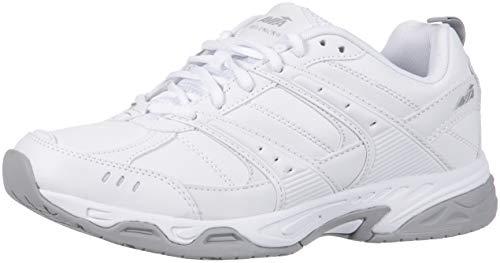Avia Men's Avi-Union II Food Service Shoe, White/Chrome Silver, 10.5 Medium US
