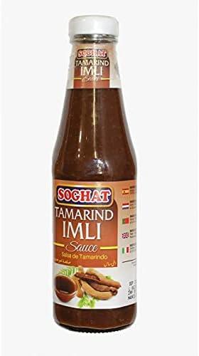 Soghat - Tamarind Imli Sauce- Salsa de Tamarindo -Estilo Asiatico - 330 Gramos
