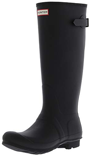 Hunter Original Adjust, Botas Para Mujer, Negro (Black), 35/36 EU