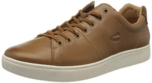 camel active Herren Corcovado Sneaker, Braun (Tobacco 02), 43 EU