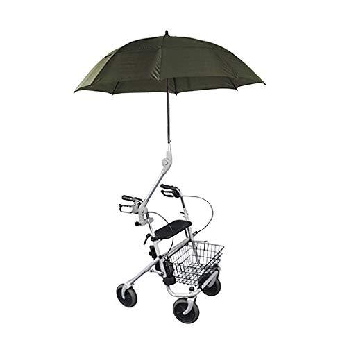 Obbocare - Paraguas Para Andador Con Soporte Universal. Sombrilla Para Silla De Ruedas De Instalación Fácil Y Rápida.
