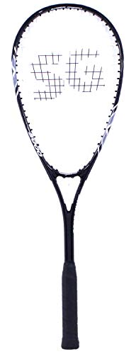 SquashGalaxy Intro 5000 Squash Racquet Series (Beginner Frame, Amazing Value!!) (Black)