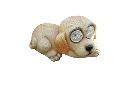 1x Solarleuchte Solar Hund Hündchen Tier Deko Garten 16437