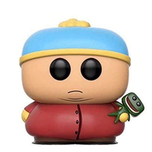 Licht-ZT South Park Pop Figure Cartman with Clyde Chibi Vinly PVC Decor Decorations