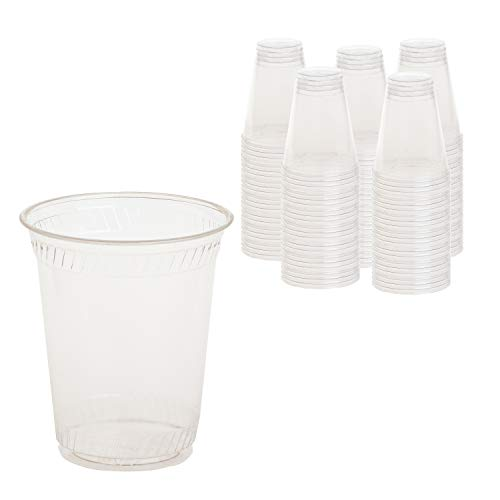 12 Oz Compostable Biodegradable Eco Friendly Cold Clear Disposable...