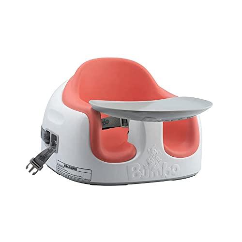 Cadeira Multi Assento 3 em 1 Coral Bumbo, Bumbo, Coral, Medida Do Produto: 26, 0 Cm (Altur) X 37, 0 Cm (Larg) X 34, 0 Cm (Prof).