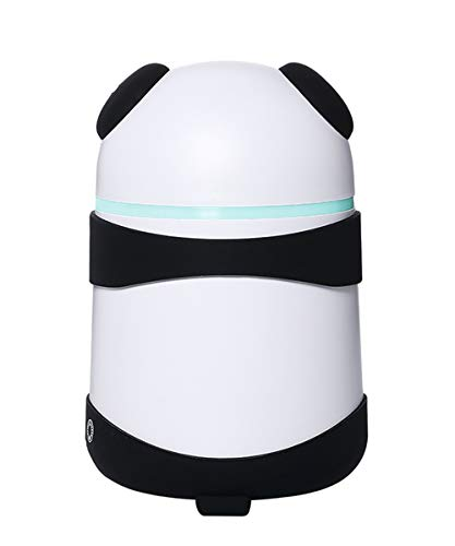 O-Mei Stars Essential Oil Diffuser, Panda-shaped Aromatherapy Diffuser, Diffusers for Essential Oils, LED Mute Cool Mist Humidifier for Bedroom Baby room Home Office,Waterless Auto-Off humidifiers