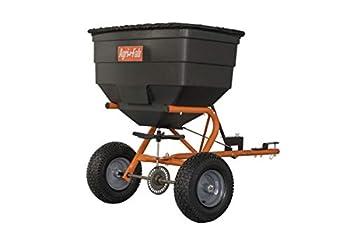 Agri-Fab Inc 45-0547 185 lb L & G Tow Broadcast Spreader Orange