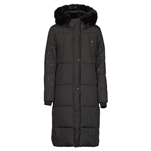 Desigual Padded Katia Mantel Wintermantel Jacke Coat Winterjacke Abrig (Black, M)