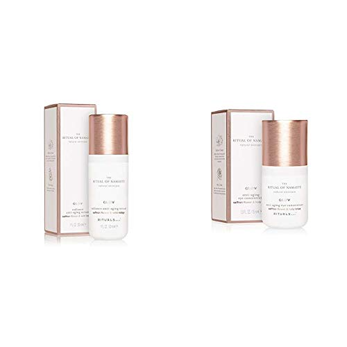 RITUALS The Ritual of Namasté Anti-Aging Serum, Glow Kollektion, 30 ml & The Ritual of Namasté Anti-Aging Augencreme, Glow Kollektion, 15 ml