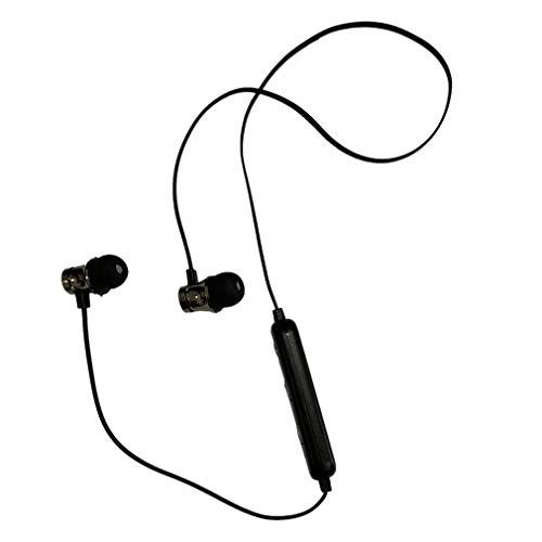 Auriculares XT11 Deportes Auriculares inalámbricos Auriculares estéreo magnéticos Inteligentes Negro