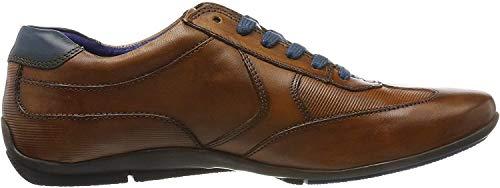 Daniel Hechter Herren 821248021110 Sneaker, Braun (Cognac/Blue 6340), 45 EU