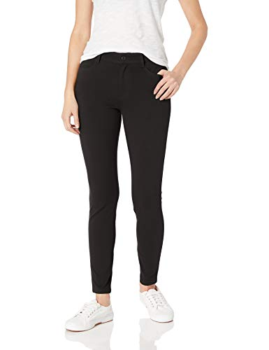 Amazon Essentials Women's Skinny Stretch Knit Jegging, Black, 18