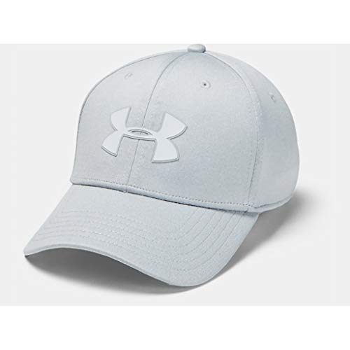 Under Armour Armour Twist Stretch Gorra, Hombre, Gris, XL/XXL