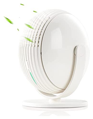 artizan Fan sin sentido, ventilador de escritorio usb, ventilador USB sin ruido, Ventilador de enfriamiento de mesa de escritorio de 3 velocidades con viento, viento fuerte, operación silenciosa, para