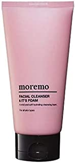 MOREMO Facial Cleanser Foam 150ml-A mild and Soft Hydrating cleasing Foam