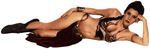 Wandtattoos Wandaufkleber Slave Princess Leah Decal Abnehmbarer Wandaufkleber Home Deco Art Bikini