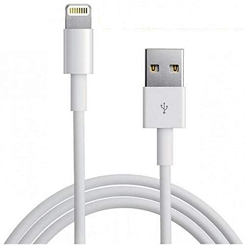 Electronics Gad - Cable compatible con Apple iPhon USB to Lightnin de 8 pines, 1 metro blanco sin paquete, carga y sincronización para iPh X 8 8 Plus 7 7 Plus 6s 6 Plus SE iPd PRO Air 2 Mini 4 3 2