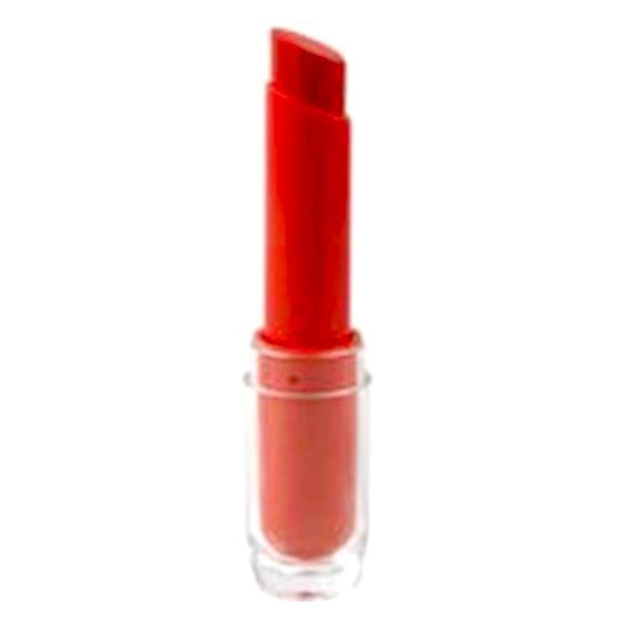 枯渇するラテン白い(6 Pack) KLEANCOLOR Kleanista Lipstick - Radiant Red (並行輸入品)