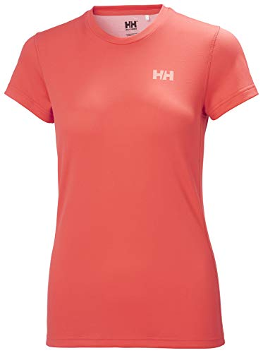 Helly-Hansen Womens HH LIFA Active Solen T-Shirt, 271 Hot Coral, Small