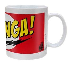 Kaffeetasse-Bazinga Red
