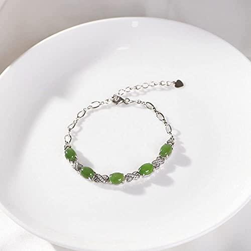 Pulsera de plata esterlina, brazalete de plata para mujeres, pulsera de plata esterlina, brazalete de plata para mujeres, pulsera de plata de ley, brazalete de plata para mujeres, pulsera de plata de