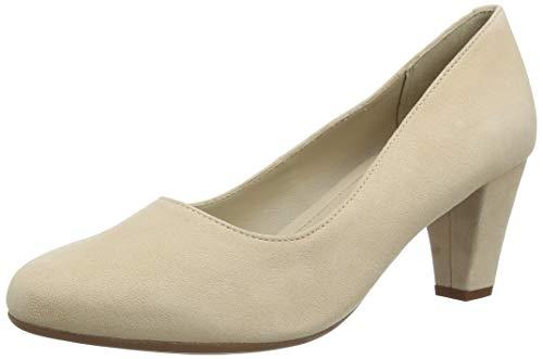 Hotter Joanna Extra Wide, Zapatos de Vestir par Uniforme Mujer, Suero De La Leche, 38