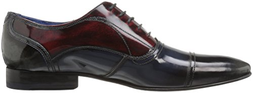 Ted Baker Men's Umbber Lhs Am Oxford, Multi, 8.5 M US