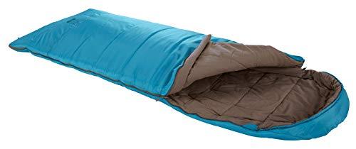 Grand Canyon Utah 190 - Warmer Deckenschlafsack, besonders weich und angenehm durch Baumwoll-Flanell im Innenbezug - Premium Ganzjahres-Schlafsack für Camping, Outdoor, Festival - Caneel Bay