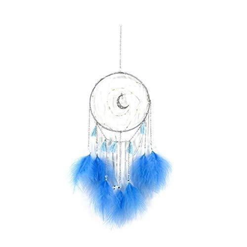 BDQZ Dream Catcher Led-lichtsnoer met veren, dromencatcher net