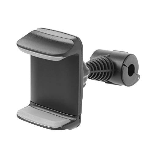 Vfhdd Soporte de montaje del reposacabezas del asiento trasero del coche de la rotación 360° para GPS del teléfono móvil de 3.5'-6'