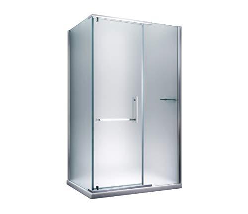 Glass ConCept 24 - Eck Duschkabine Dusche Milchglas Frost Satiniert