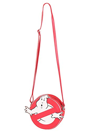 Ghostbusters Logo Halloween Bag, faux leather with zipper
